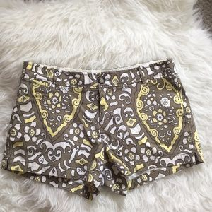 Old Navy Low Rise Paisley Chino